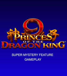 9 Princes of the Dragon King KOI Super Mystery Feature gameplay