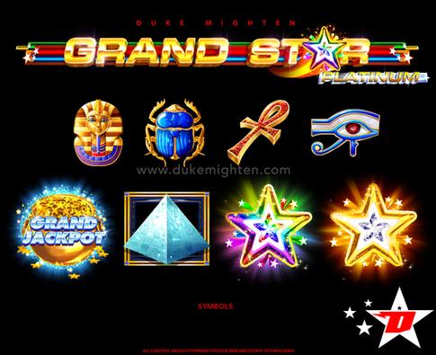 GRAND STAR Platinum symbols