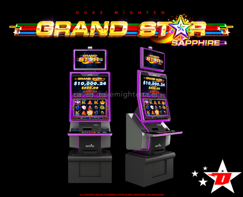 GRAND STAR Sapphire on the MARS cabinet