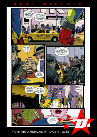 Fighting American Page 9