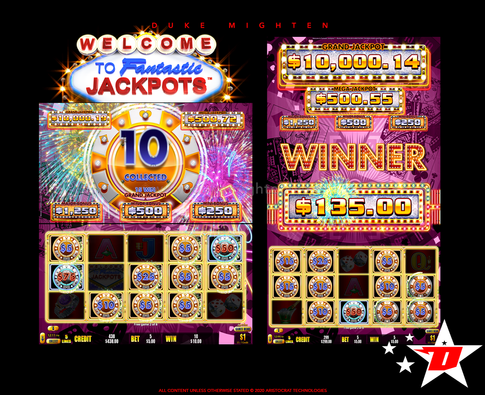 Welcome To Fantastic Jackpots RICHES Hold & Spin Feature