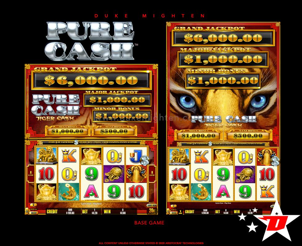 Pure Cash TIGER CASH Base Game