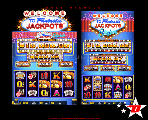 Welcome To Fantastic Jackpots STAKES Base Game