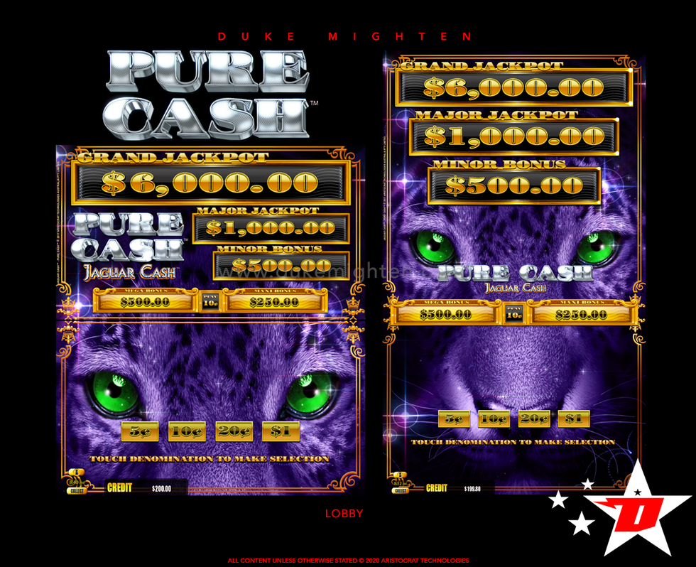 Pure Cash JAGUAR CASH Lobby