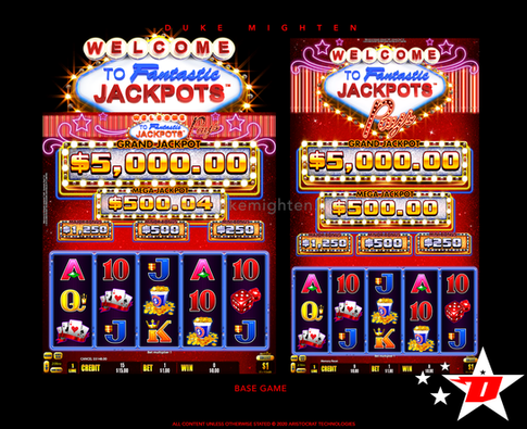 Welcome To Fantastic Jackpots PAYS Base Game