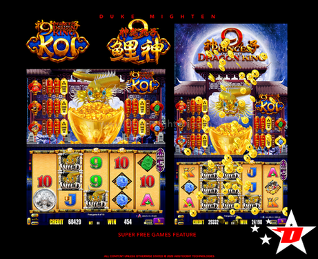 9 Princes of the Dragon King KOI Super Free Games Feature