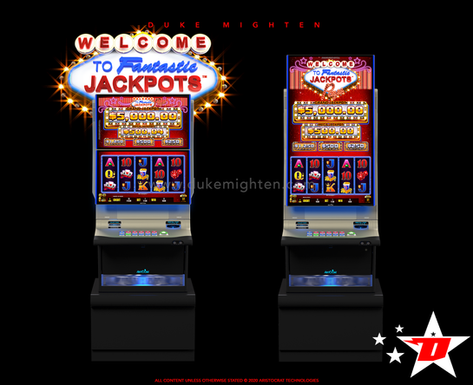 Welcome To Fantastic Jackpots PAYS on Helix plus and Helix XT cabinets