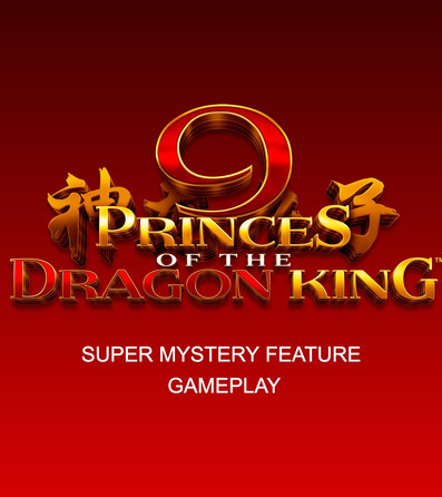 9 Princes of the Dragon King TIGER Super Mystery Feature gameplay