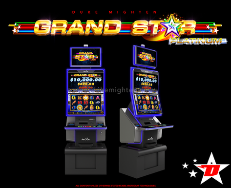 GRAND STAR Platinum on the MARS cabinet