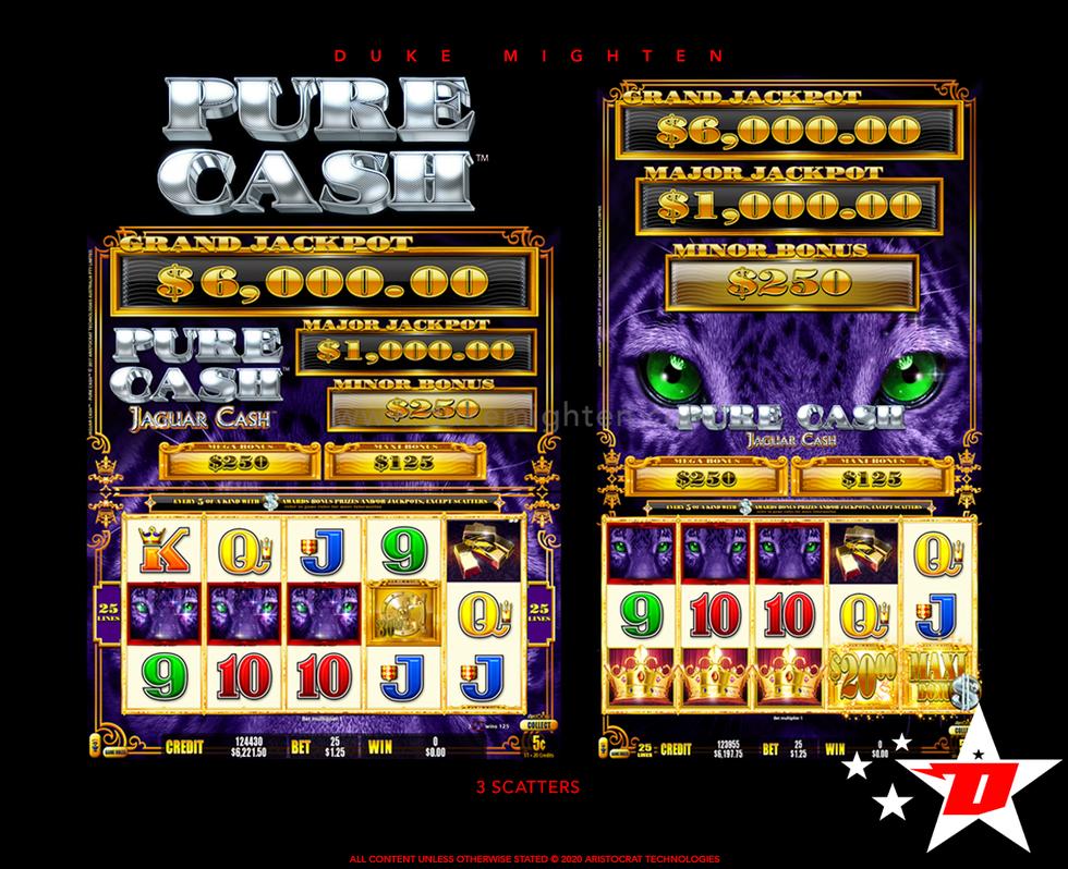 Pure Cash JAGUAR CASH 3 Scatters