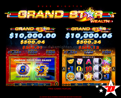 GRAND STAR Wealth Free Games feature