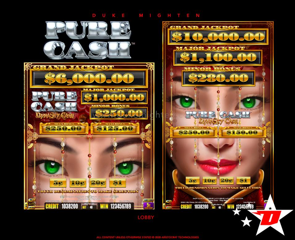 Pure Cash DYNASTY CASH Lobby