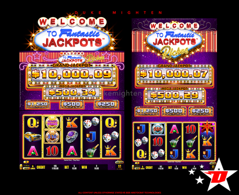Welcome To Fantastic Jackpots RICHES Base Game