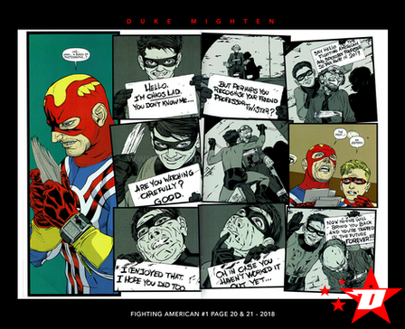 Fighting American Page 20 & 21