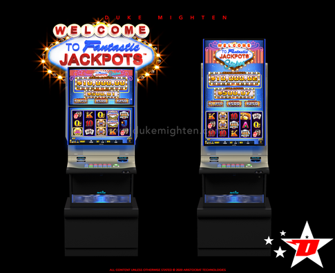 Welcome To Fantastic Jackpots STAKES on Helix plus and Helix XT cabinets