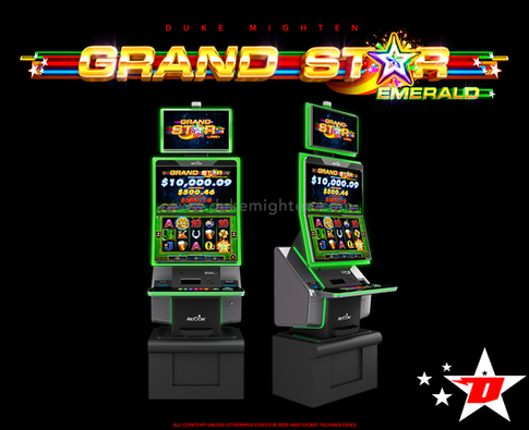 GRAND STAR Emerald on the MARS cabinet