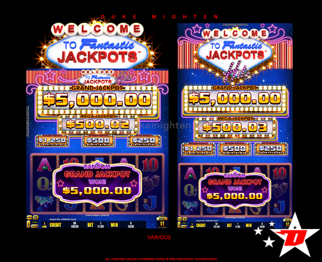 Welcome To Fantastic Jackpots HITS