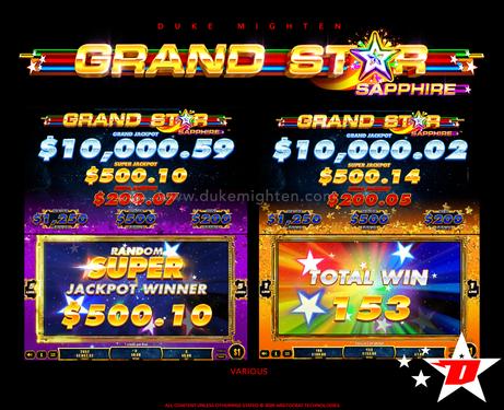 GRAND STAR Sapphire Various screens