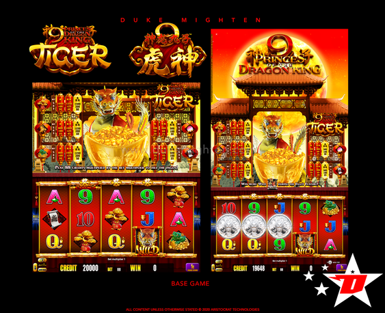 9 Princes of the Dragon King TIGER  Base Game