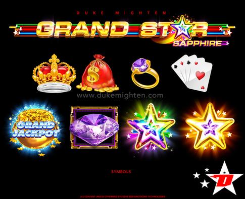GRAND STAR Sapphire symbols