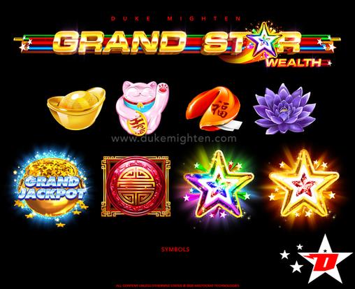 GRAND STAR Wealth symbols
