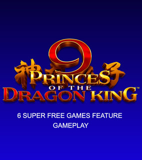 9 Princes of the Dragon King KOI 6 Super Free Games Feature gameplay