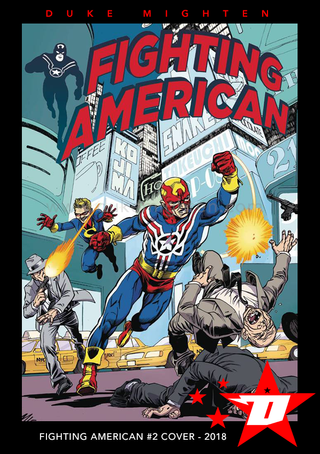 Fighting American Cover #2