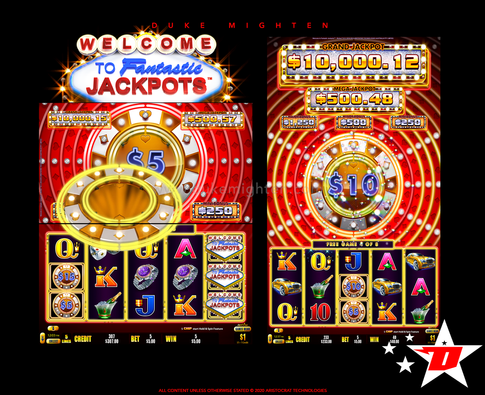 Welcome To Fantastic Jackpots RICHES New Free Games Feature