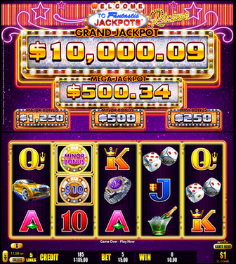 Welcome To Fantastic Jackpots RICHES