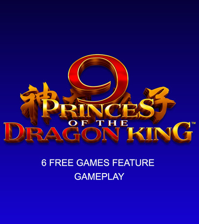 9 Princes of the Dragon King KOI 6 Free Games Feature gameplay