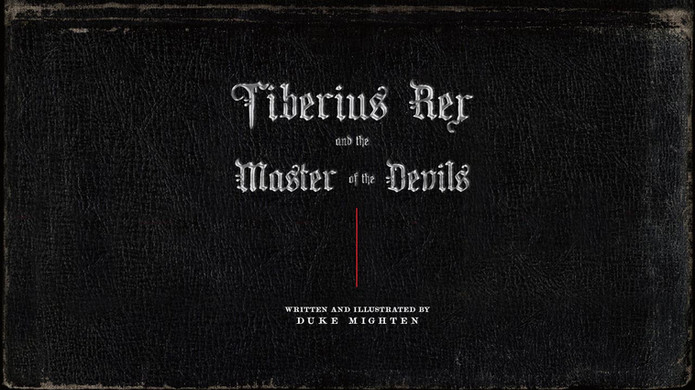 Tiberius Rex and the Master of the Devils concept preview