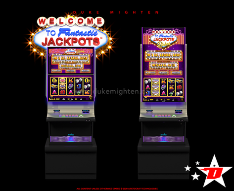 Welcome To Fantastic Jackpots RICHES on Helix plus and Helix XT cabinets