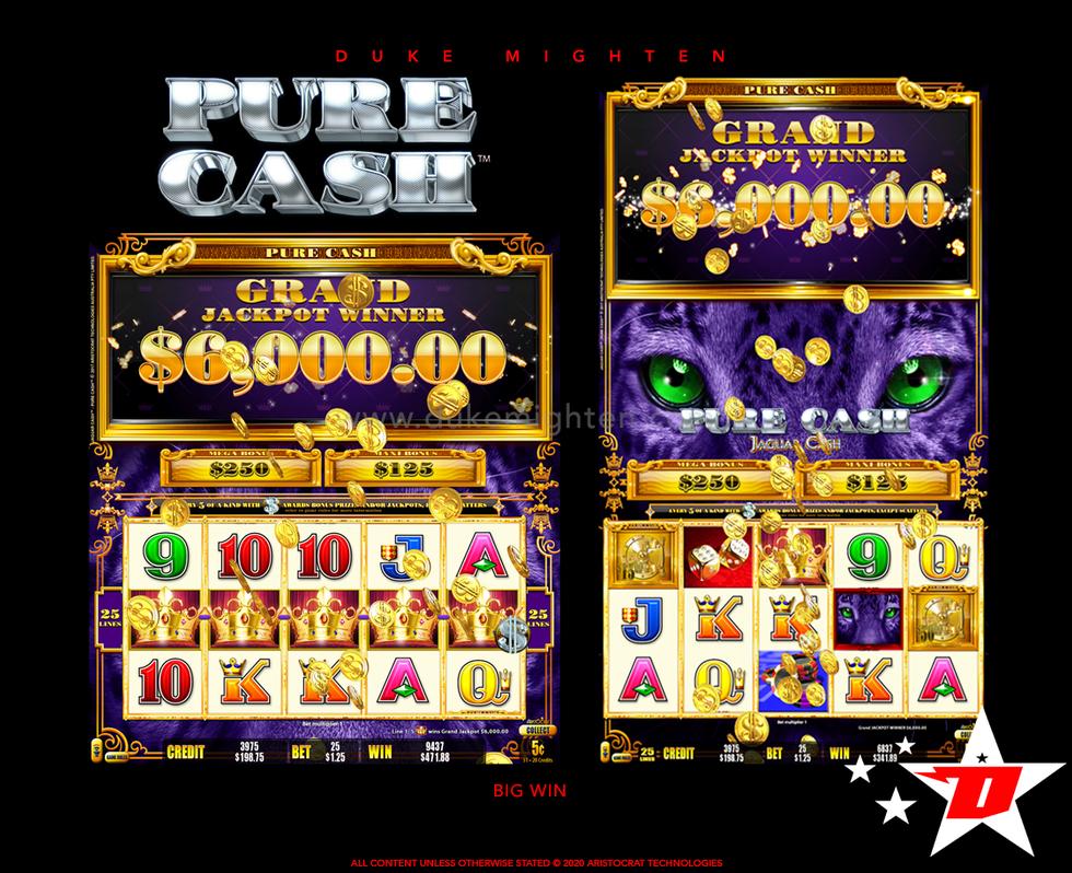 Pure Cash JAGUAR CASH Big Win