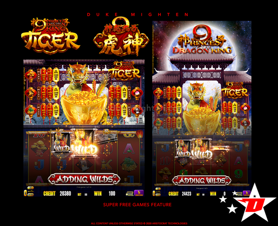 9 Princes of the Dragon King TIGER Super Free Games Feature .png