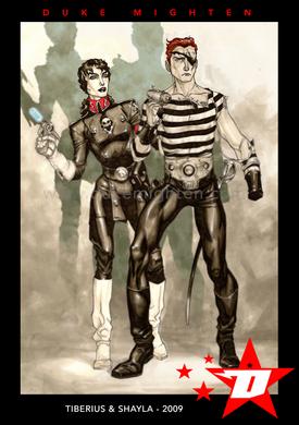 Tiberius and Shayla