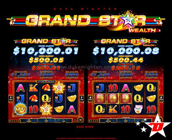 GRAND STAR Wealth Base Game