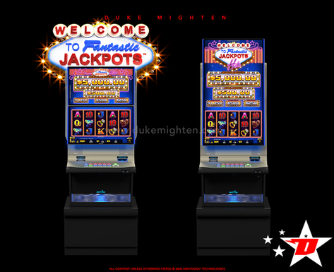 Welcome To Fantastic Jackpots HITS on Helix plus and Helix XT cabinets
