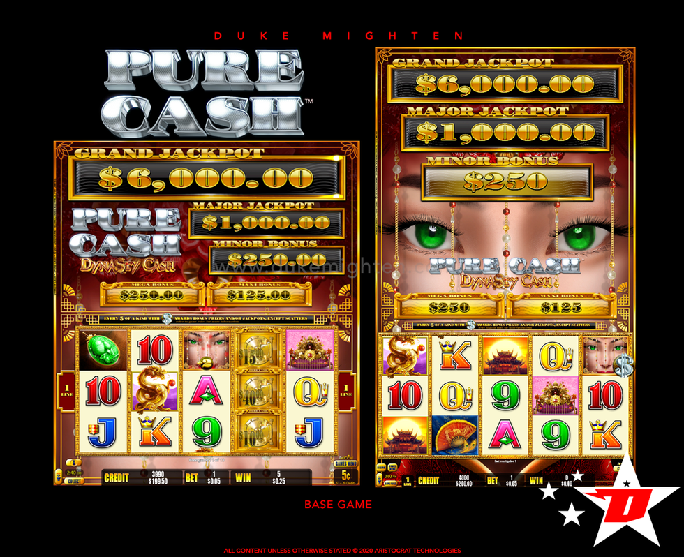 Pure Cash DYNASTY CASH Base Game