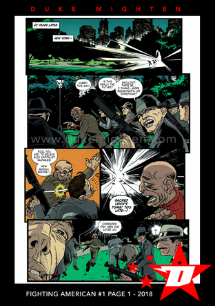 Fighting American Page 1