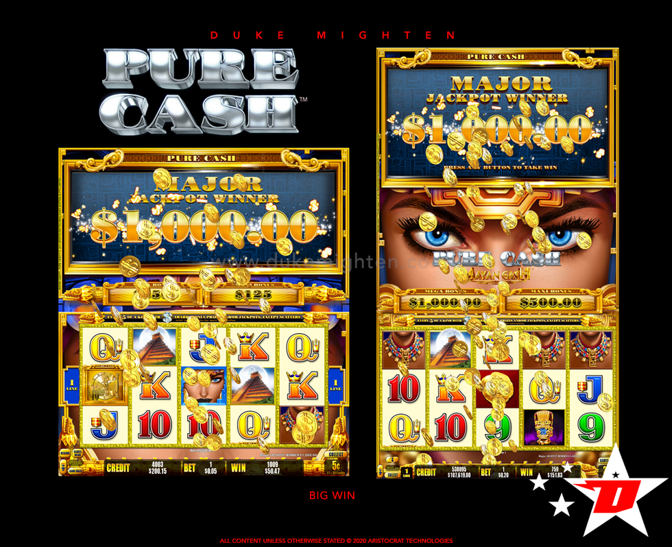 Pure Cash MAYAN CASH Big Win
