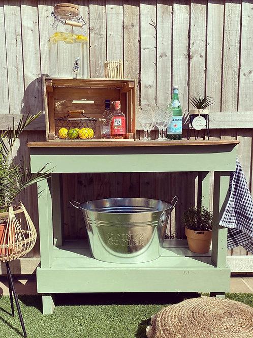 Gin bar/ Potting bench