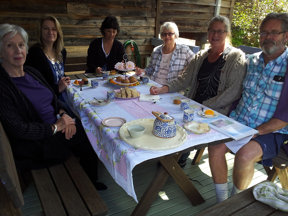 Lovely workshop participants enjoying morning tea!.jpg