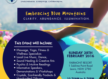 Embrace Life, Embracing Blue Mountains