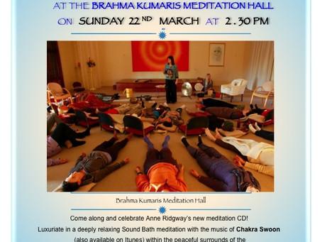 Launch of Chakra Swoon - Sound Bath Meditation