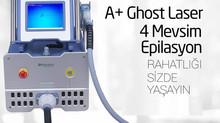 Ghost ( Hayalet ) Lazer epilasyon ile inanılmaz sonuçlar