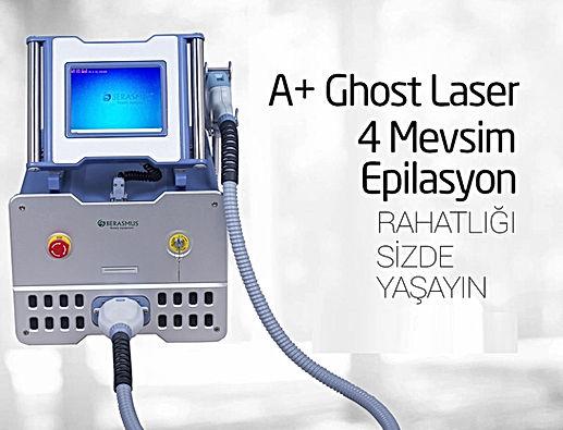 Ghost Hayalet Lazer Epilasyon Gaziantep