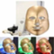 Gold Led Maske cilt bakımı
