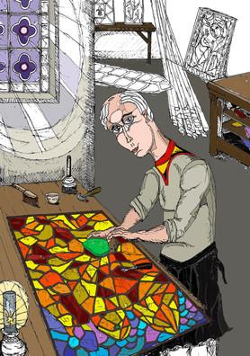 Le vitrailliste (innachevé)
