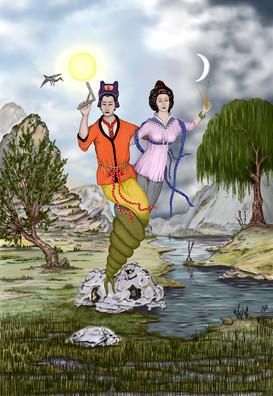 Fuxi et Nuwa