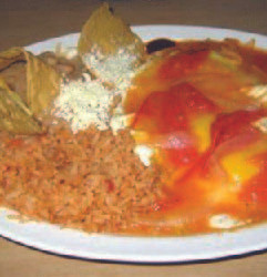 Tamale Special - Lunch Dinner Plate